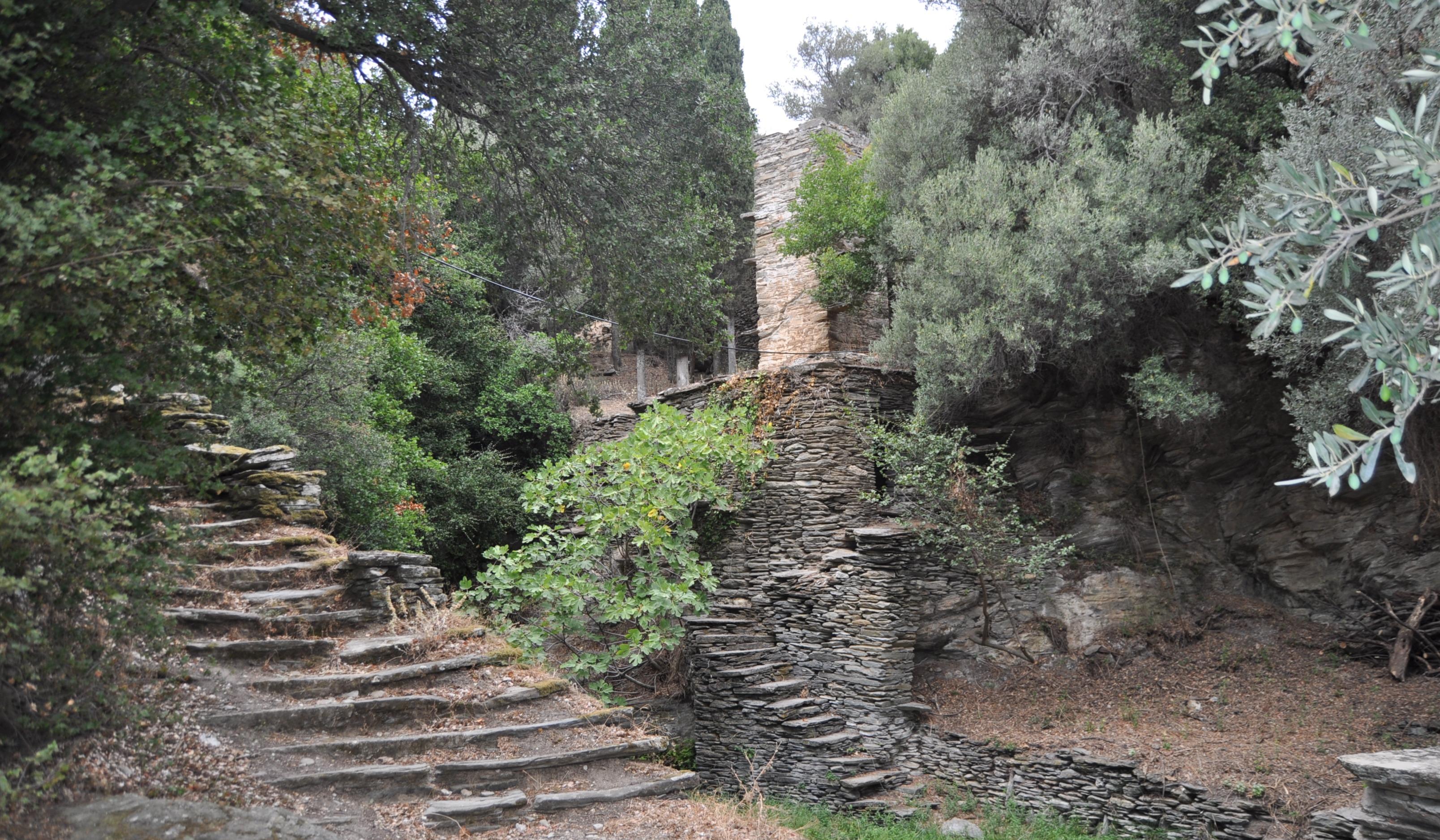 Andros Insel - Wanderweg