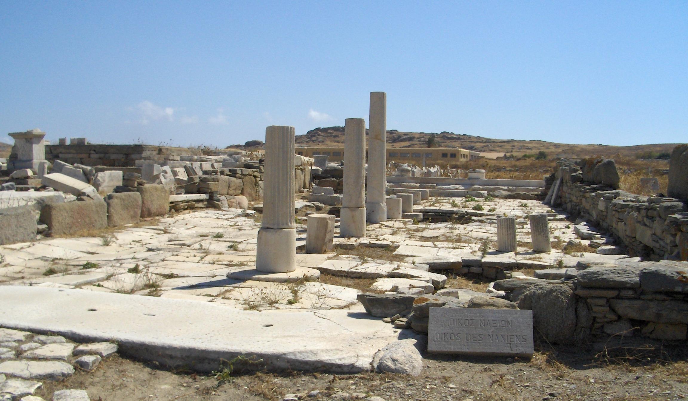 Archäologische Stätte Delos