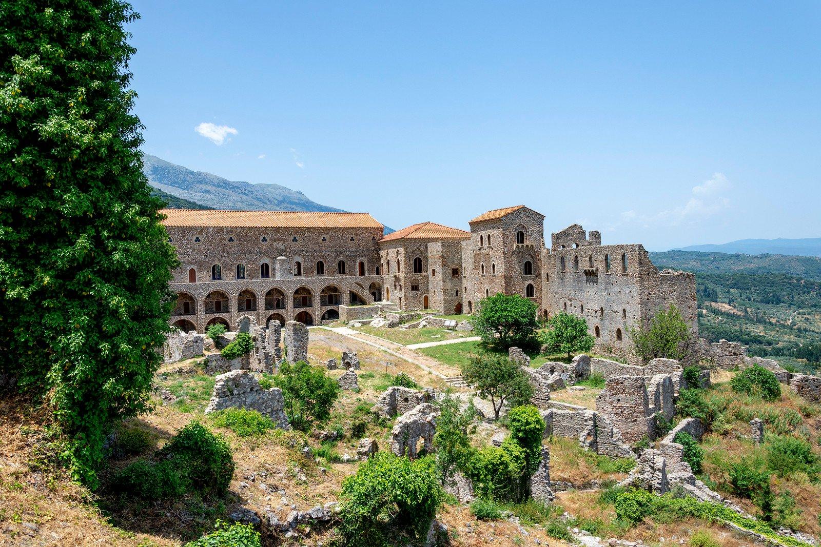 Palast von Mystras